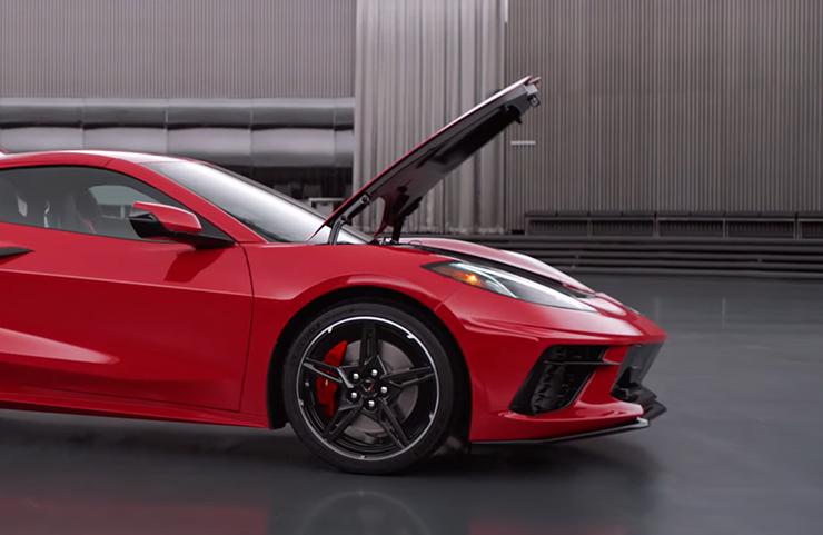 Actualización de acceso de cofre de Corvette