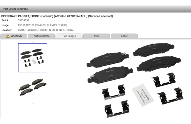 New GM Global Electronic Parts Catalog Release Offers Multiple Enhancements, Search Functions