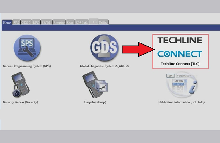 GDS2 cambia de TIS2Web a Techline Connect