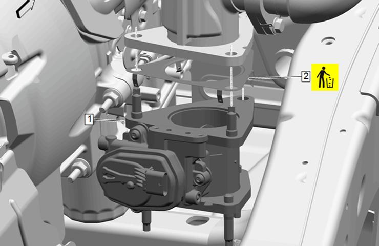 Olor de escape en la cabina o el compartimiento del motor