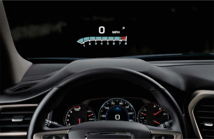 Head-Up Display Image Not Level