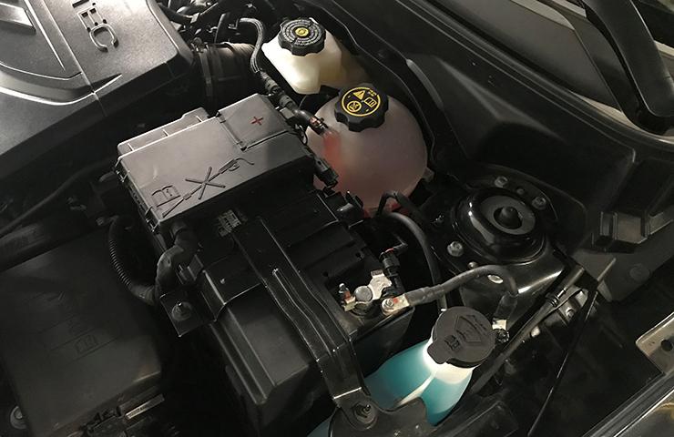 Configuración de prueba y clave de códigos de prueba válidos para reclamos de garantía de baterías