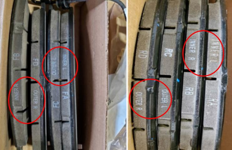 Mise à jour : plaquettes de frein des Silverado 2500HD et 3500HD et des Sierra 2500HD et 3500HD
