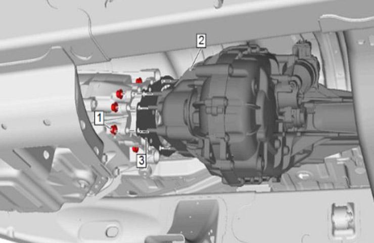 Désalignement de la boîte de transfert pouvant entraîner des problèmes de bruit, de vibration et de dureté de conduite