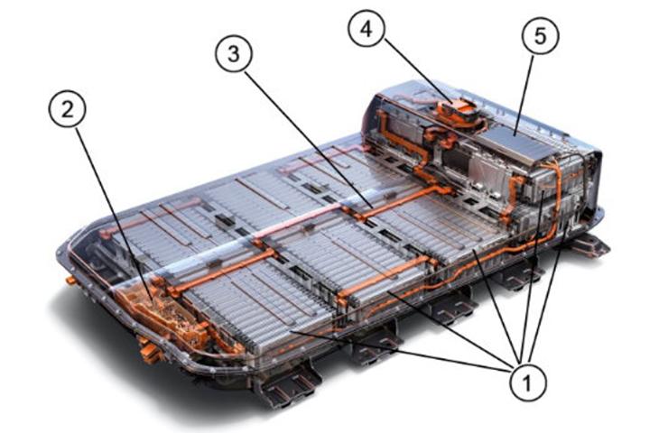 Ensamble de batería de alto voltaje Bolt EUV y Bolt EV 2022