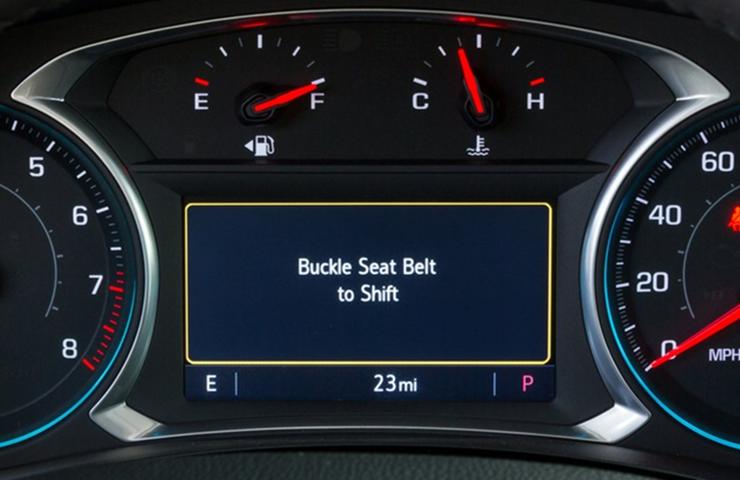 Abrocharse el cinturón para conducir agregado a más modelos próximos