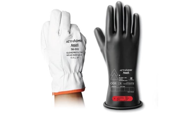 Inspecting High Voltage Insulation Gloves