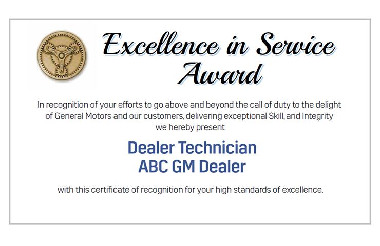FSE Technician Recognition Awards – 3rd Quarter 2021
